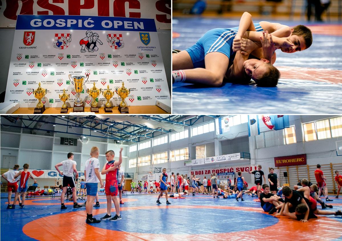 "Photo of FOTO Održan 16. međunarodni turnir u hrvanju ""Gospić Open"""