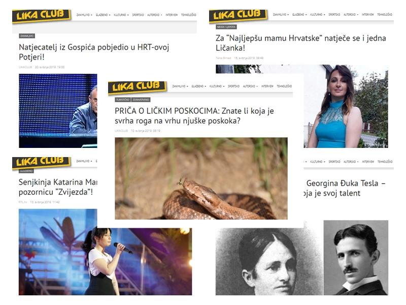 Photo of TOP 5 Što se najviše čitalo u svibnju? Lički poskoci, Gospićanin u Potjeri, priča o Teslinoj majci…