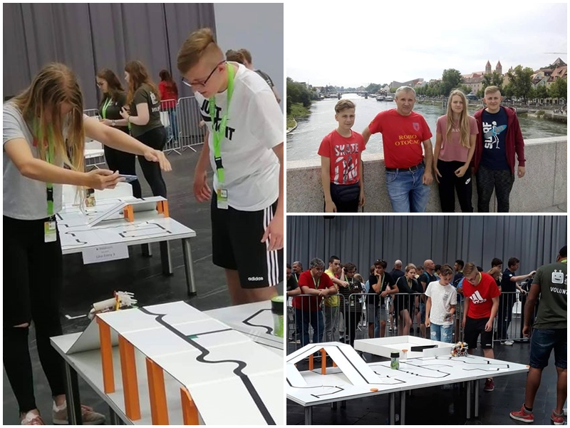 Photo of Mladi robotičari iz Otočca osvojili 5. mjesto na europskom natjecanju u Hannoveru!