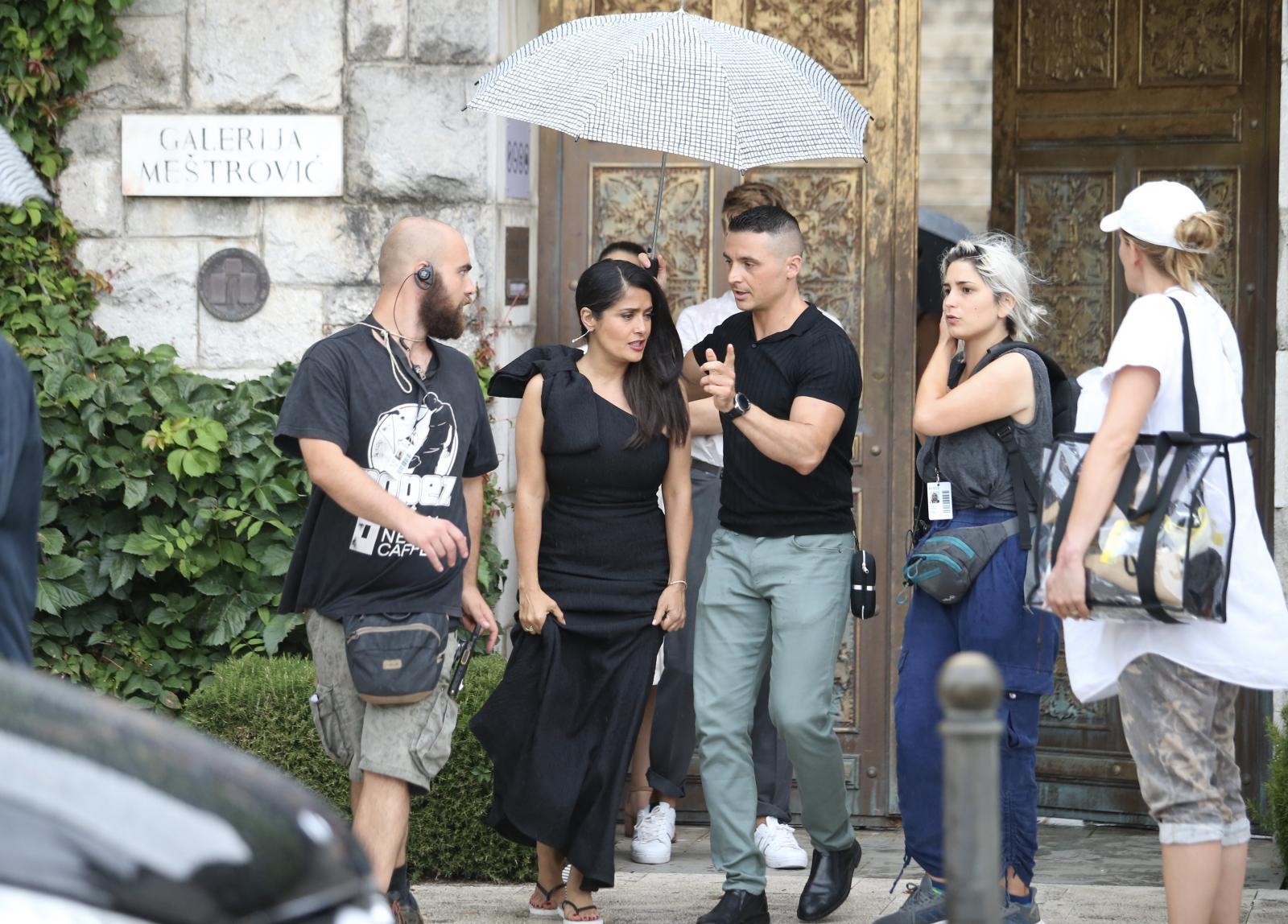 Photo of UZ BOK OWENU WILSONU Salma Hayek ponovno snima u Hrvatskoj – ovog puta u Splitu