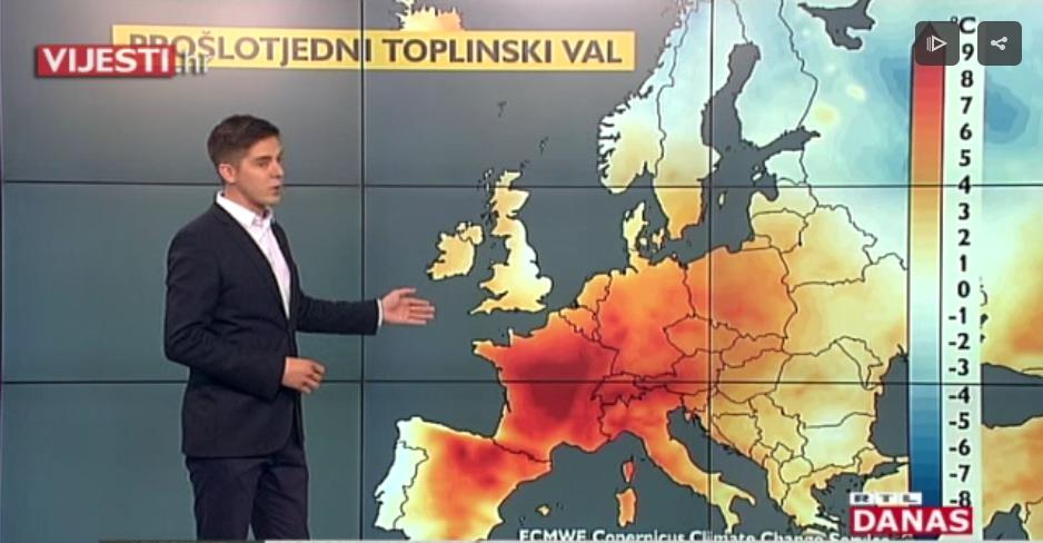 Photo of VIDEO Ovogodišnji lipanj najtopliji u povijesti mjerenja