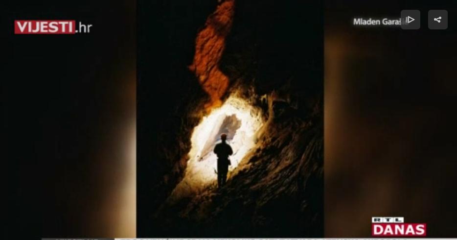 Photo of VIDEO Zavirite u špilju koja je otkrivena tokom izgradnje tunela Sv. Rok