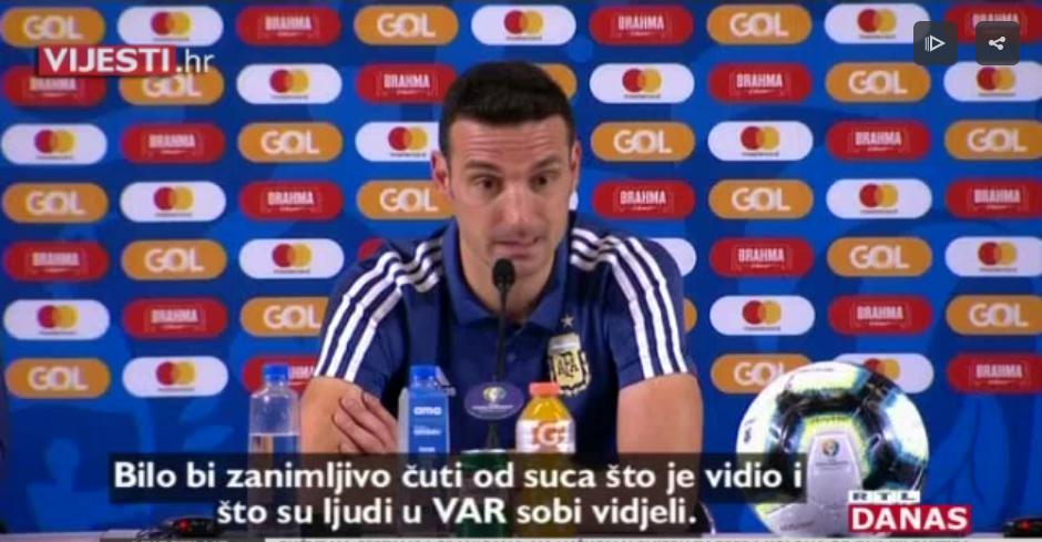 Photo of VIDEO Messi odbio medalju za treće mjesto na Copa Americi, ne želi biti dio korupcije