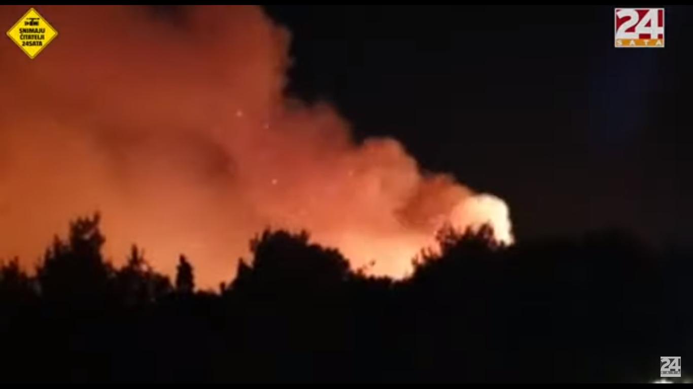 Photo of Zahvaljujući naporima vatrogasaca požar na Zrću stavljen pod kontrolu