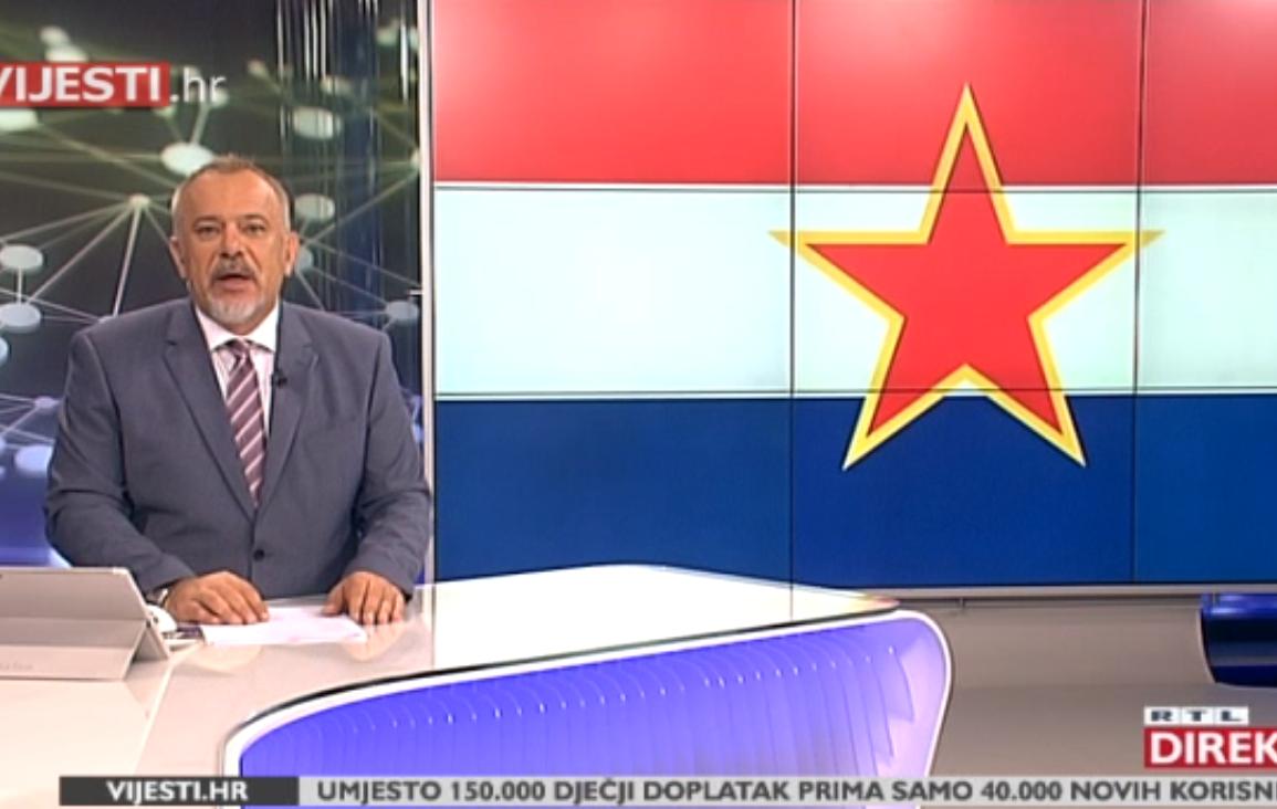 """Photo of KOMENTAR ZORANA ŠPRAJCA: """"Pogledajte nad kakvim se svinjcem vijori hrvatska zastava i policija nikad nijednu nije skinula"""""""