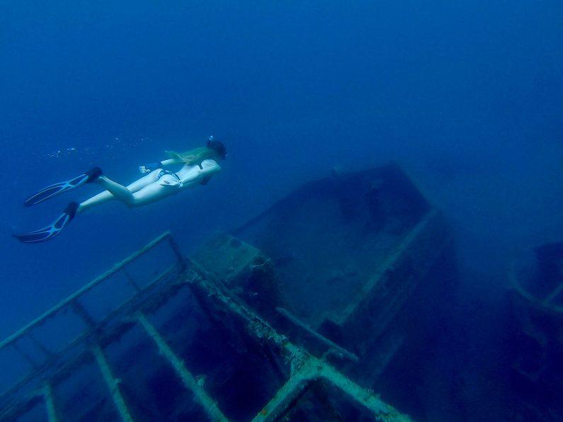 """Photo of EKSKLUZIVNO """"Wreck diving"""" fotografije iz uvale Zavratnica!"""