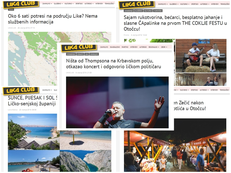 Photo of TOP 5 Što se najviše čitalo u srpnju? Thompson na Krbavskom polju, The Coklje fest, najljepše plaže u županiji…