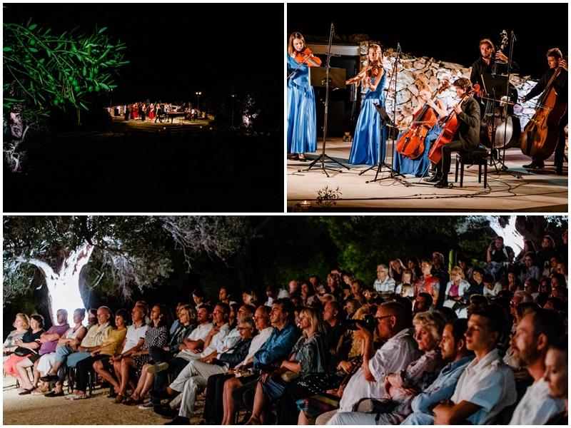 Photo of FOTO/VIDEO U Novalji svečano otvoren 2. Olive Classic – festival klasične glazbe koji se održava među maslinama