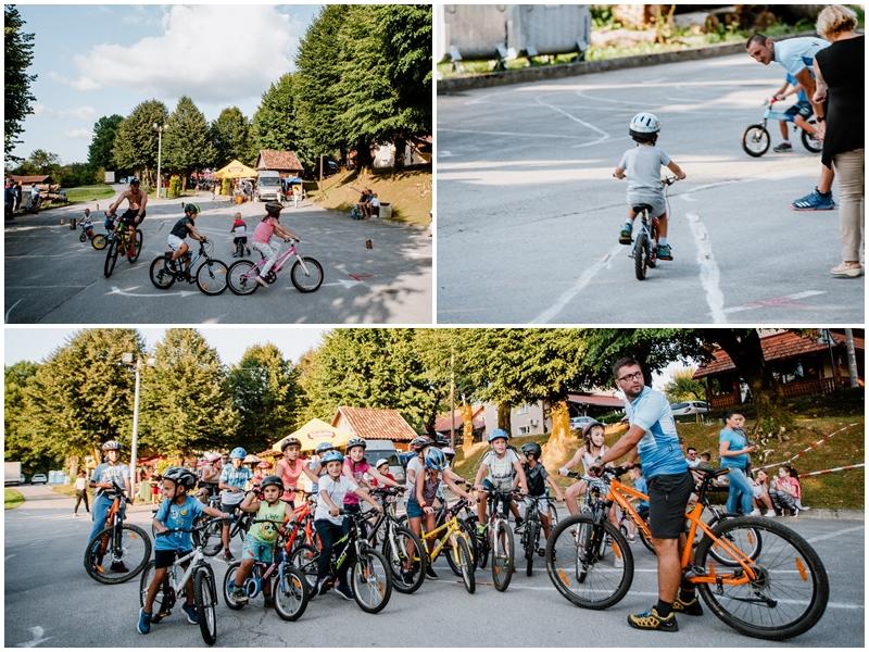 Photo of FOTO Prvom Malom biciklijadom započela proslava sv. Jelene u Rakovici