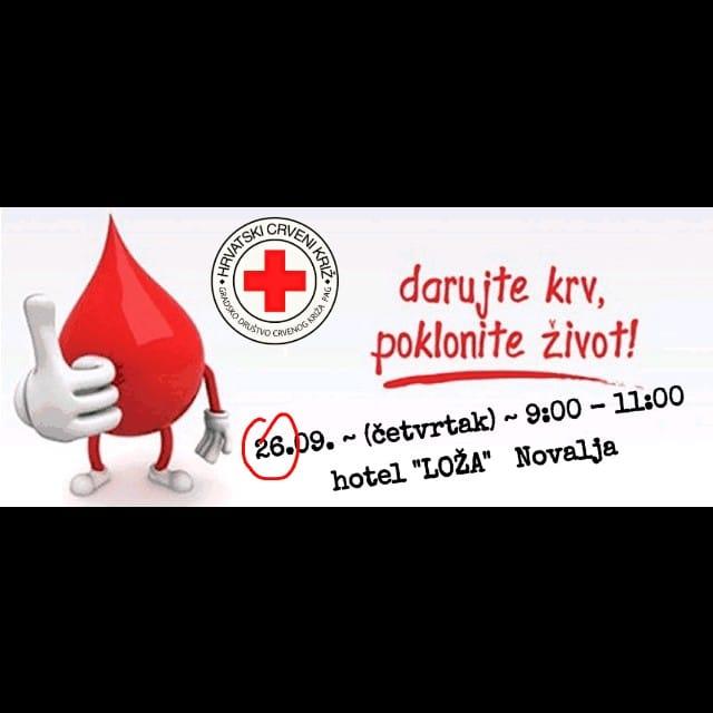 Photo of Pridružite se akciji doniranja krvi u Hotelu Loža, darujte krv – poklonite život