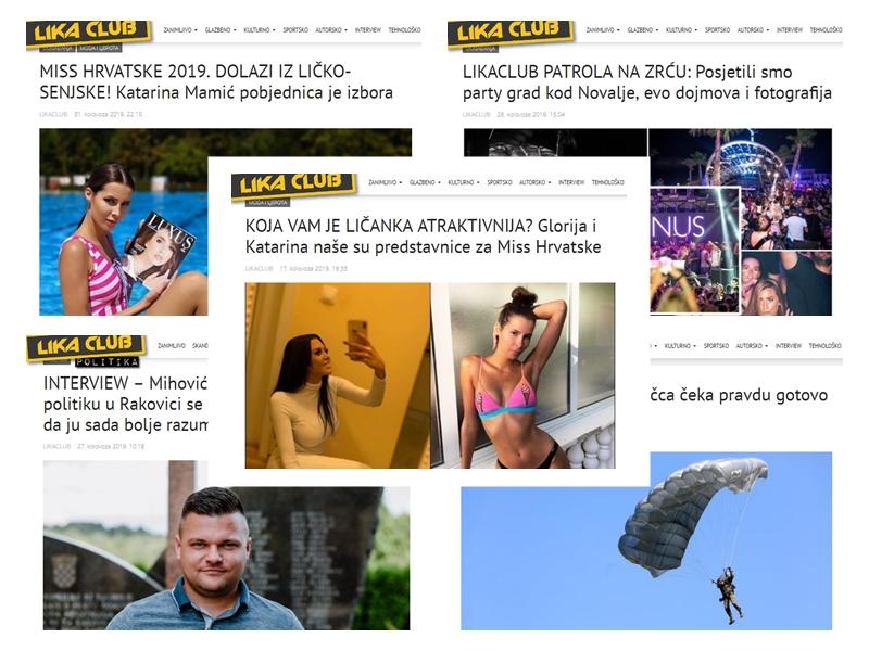 Photo of TOP 5 Što se najviše čitalo u kolovozu? Ličke misice, LIKACLUB patrola na Zrću, razgovor s Mihovilom Bićanićem…
