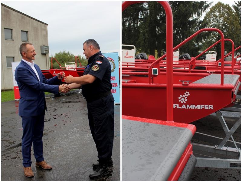 Photo of U Ozlju održana primopredaja vatrogasnih spasilačkih čamaca