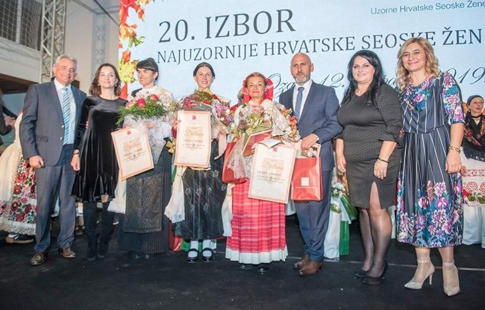 Photo of U Ozlju odabrana najuzornija hrvatska seoska žena