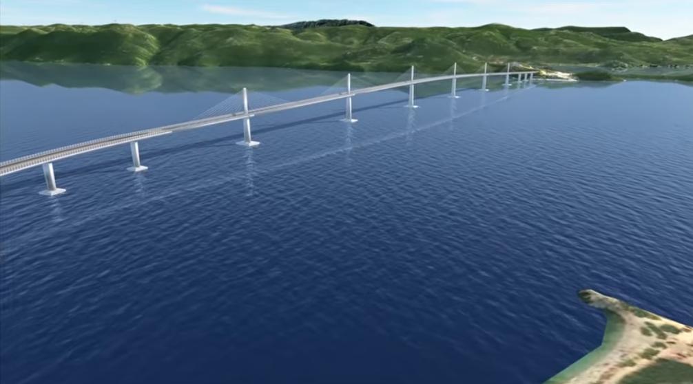 Photo of VIDEO Pogledajte kako će izgledati Pelješki most nakon završetka radova