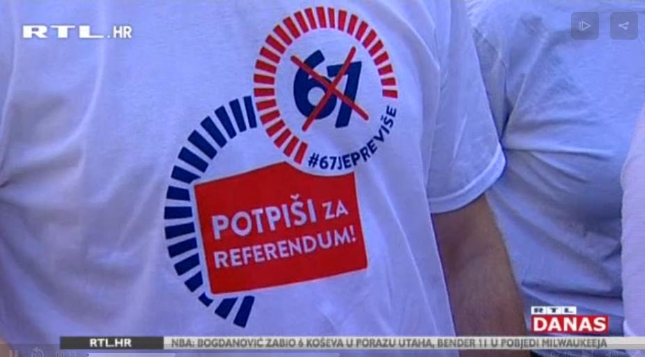 """Photo of VIDEO Vlada prihvatila sve zahtjeve inicijative """"67 je previše"""", ali ne odustaje od kasnije mirovine"""