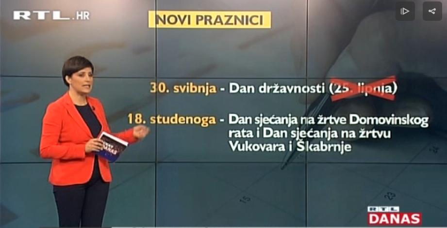Photo of VIDEO Hrvatska će od sljedeće godine imati dva nova praznika, ali i nove spomendane