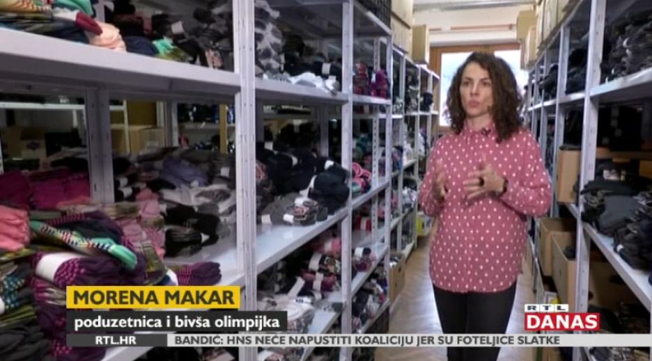 Photo of VIDEO Bivša hrvatska olimpijka proizvodi čarape koje osvajaju vrhove i ulice Europe