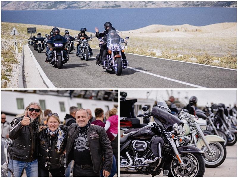 Photo of FOTO/VIDEO Legendarni Harley Davidson motori okupirali Novalju, pogledajte fotogaleriju