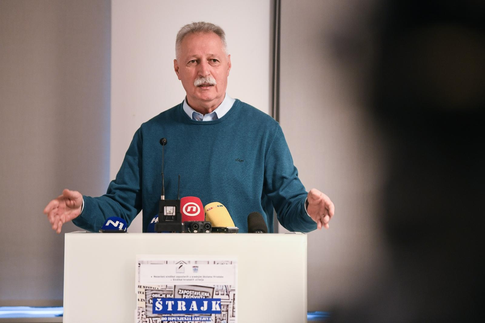"""Photo of Mihalinec: """"ŽupanMilinovićkrenuo je zastrašivati zaposlene koji su u štrajku"""""""