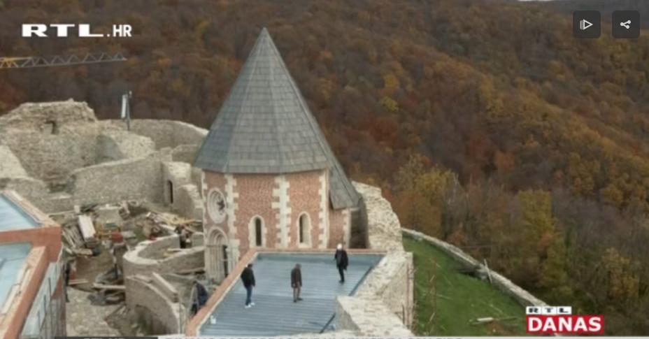 Photo of VIDEO Kako napreduje rekonstrukcija Medvedgrada i što će novo ponuditi posjetiteljima?