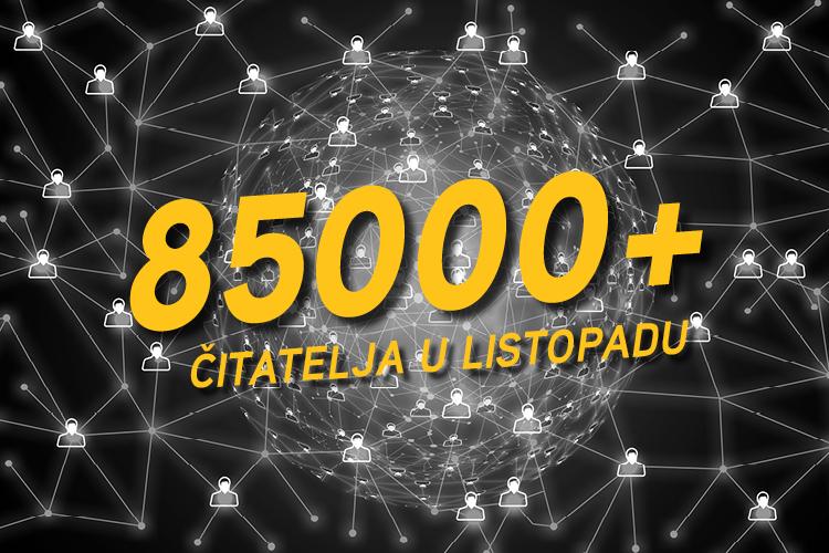 Photo of LIKACLUB U LISTOPADU OBORIO REKORD ČITANOSTI Slavimo najbolji rezultat portala u povijesti!