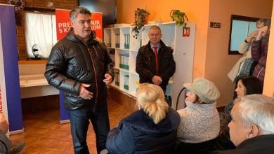 Photo of Predsjednički kandidat Zoran Milanović posjetio Donji Lapac