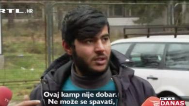 """Photo of VIDEO Migranti prebačeni iz Vučjaka: """"U Blažuju nema vode, a dali su nam jesti samo jednom"""""""