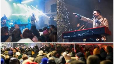 Photo of FOTO/VIDEO Petar Grašo održao spektakularan koncert na Trgu Bazilike