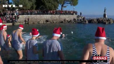 Photo of VIDEO U Opatiji novogodišnjim kupanjem otvorena sezona kupanja