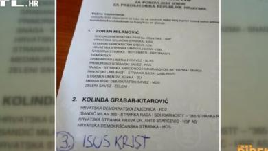 Photo of Fenomeni izbora: Predsjednik s tamburicom, novi Milan Bandić, glasovi za Isusa…