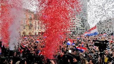 Photo of SJAJNA ATMOSFERA NA DOČEKU Hrvatska slavila sa srebrnim Kaubojima na glavnom zagrebačkom trgu!