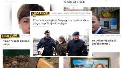 Photo of TOP 5 Što se najviše čitalo u prosincu? Potraga za Jadrankom Skender, gospićki ginekolozi, masovna tučnjava u Brinju…
