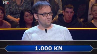 Photo of Natjecatelj iz Gospića nije poslušao publiku pa napustio kviz s 1000 kuna