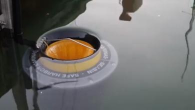 Photo of U riječnoj luci postavljen uređaj koji prikuplja smeće i filtrira more