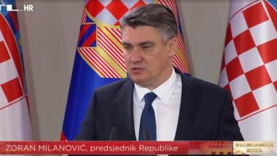 """Photo of Srbijanski mediji: """"Slučajno ili ne, Milanović je citirao stihove beogradskog benda"""""""