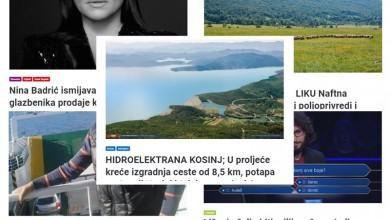 Photo of TOP 5 Što se najviše čitalo u siječnju? Hidroelektrana Kosinj, ismijavanje ličkih glazbenika, Ličanin u Milijunašu…