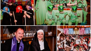 """Photo of FOTO Vještice, pirati, Arapi i """"mali zeleni"""" se zabavljali na 17. Maskenbalu u Korenici"""