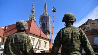 """Photo of Poruka HV-a Zagrebu: """"Dajete nam snagu za dalje, ostanite doma, idemo u nove pobjede!"""""""