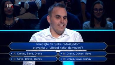 Photo of Ličanin pobrkao redoslijed rijeka u himni pa otišao kući s 1000 kuna