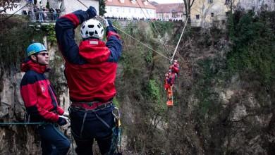 Photo of FOTO Za 70. rođendan HGSS u Ogulinu spojio atraktivnu vježbu i bogatu tradiciju alpinizma