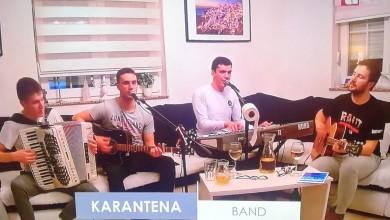 Photo of Karantena bend večeras ponovo svira online!