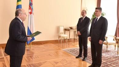 Photo of Veleposlanici Brazila i Irana predali vjerodajnice Predsjedniku Milanoviću