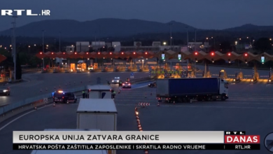 Photo of VIDEO Europska unija zatvara vanjske granice
