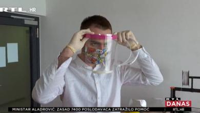 Photo of VIDEO Splitski student printa vizire za zaštitu liječnika od koronavirusa