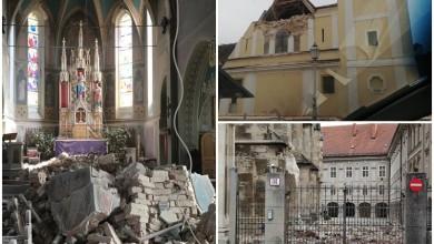 Photo of FOTO Pogledajte kako nakon potresa izgledaju zagrebačke crkve