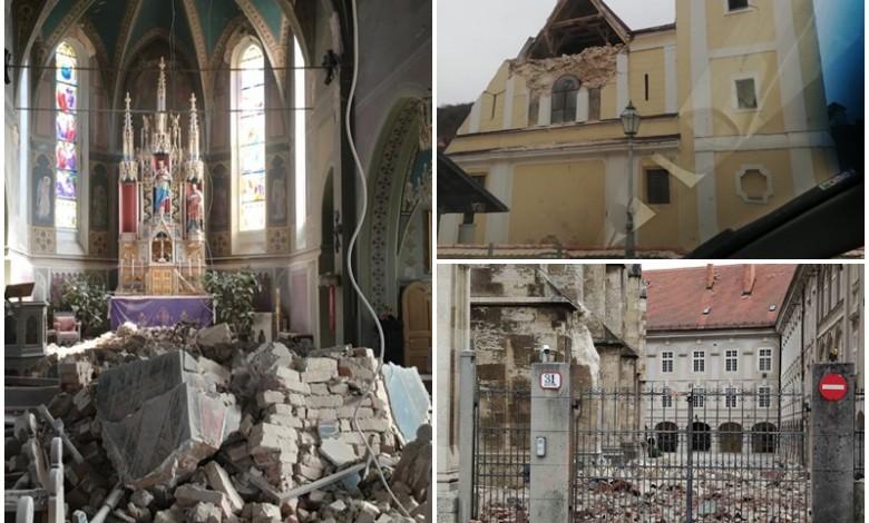 Foto Pogledajte Kako Nakon Potresa Izgledaju Zagrebacke Crkve Lika Club