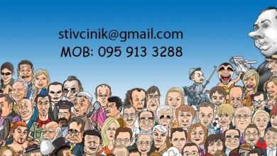 Photo of Lika Club otvara suradnju sa poznatim karikaturistom Stivom Cinikom
