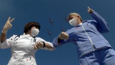 """Photo of VIDEO Hrvatski vojnici poručili medicinskom osoblju: """"Vi ste naši heroji, hvala vam!"""""""