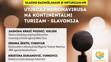Photo of GLASNO RAZMIŠLJANJE Kako koronavirus utječe na kontinentalni turizam u Slavoniji?