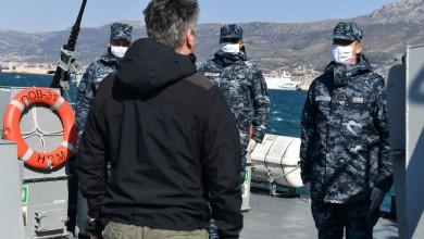 Photo of FOTO Predsjednik Milanović s pripadnicima Obalne straže na redovitoj plovidbi obalnog ophodnog broda